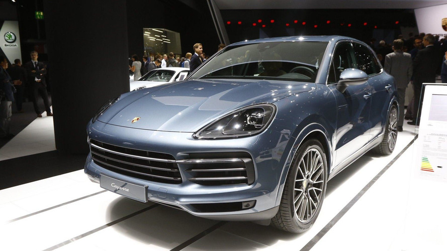 Porsche Reveals New Third-Generation Cayenne