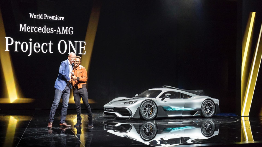 Oh Snap! Hamilton Says AMG Can Build Better Supercar Than Ferrari