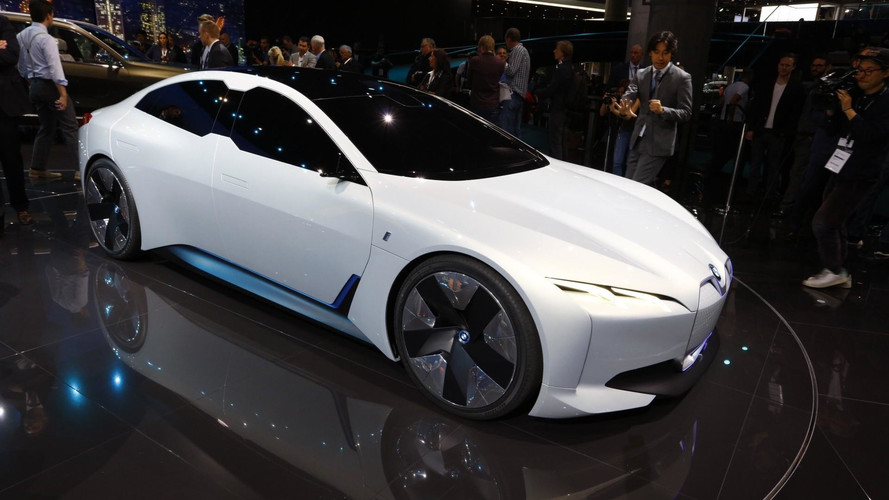 BMW i4 electric saloon is on the way to rival Model S