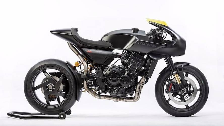 Honda Design Shows CB4 Interceptor Concept