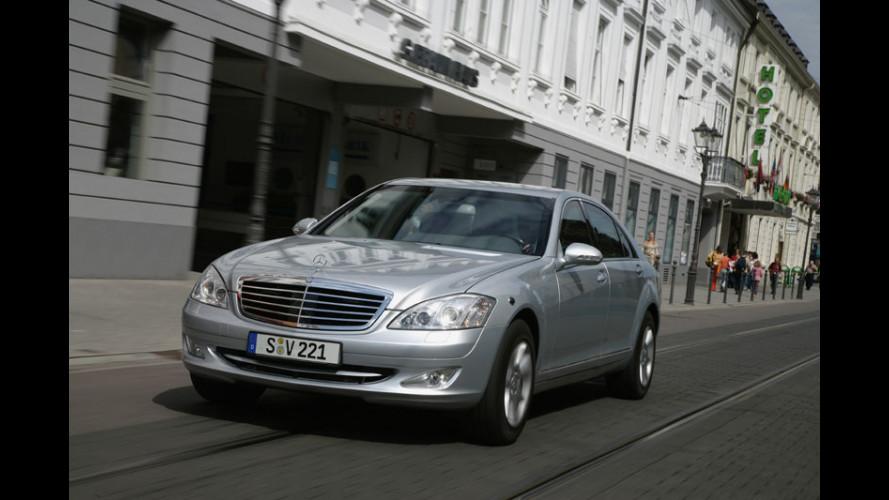 Mercedes S 600 Guard: un lusso sicuro...