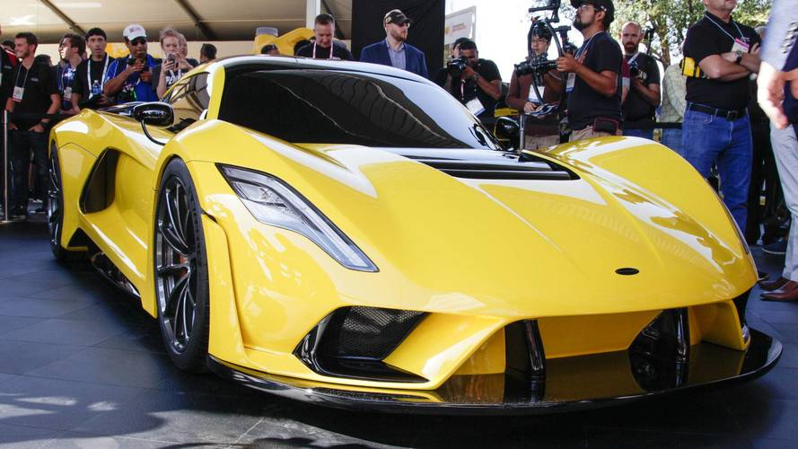 Hennessey's 1,600-HP Venom F5 Is Gunning For 300 MPH