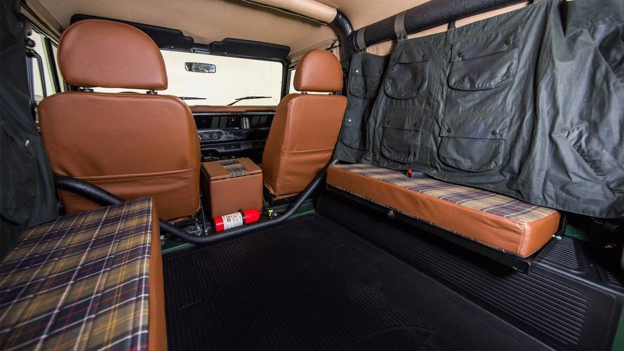 Land Rover Defender proyecto Barbour