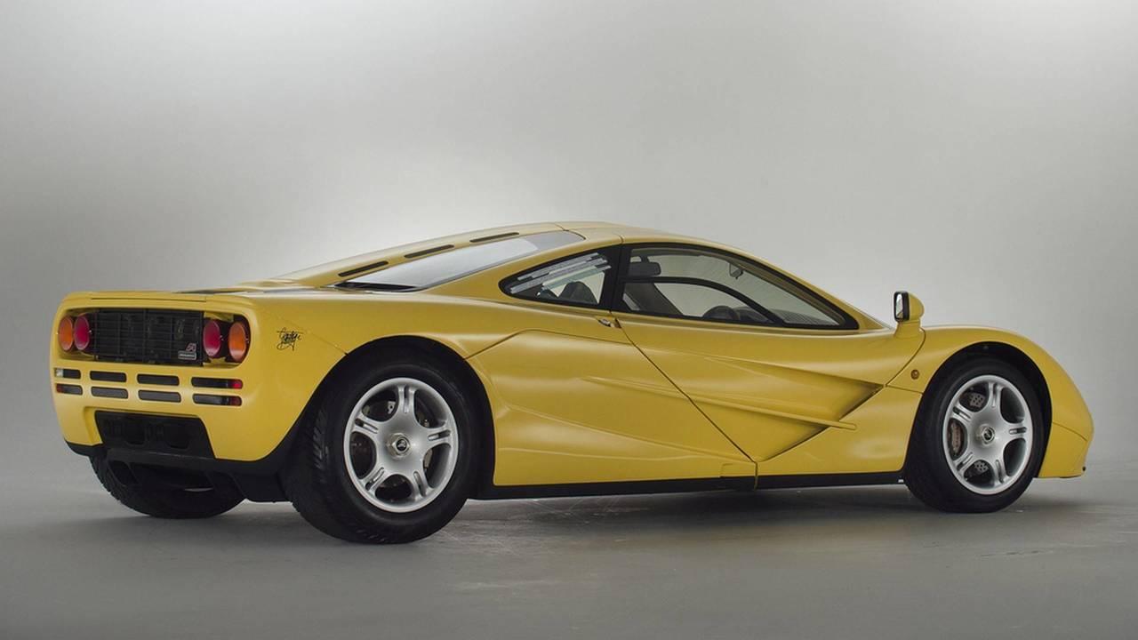Undriven McLaren F1 for sale