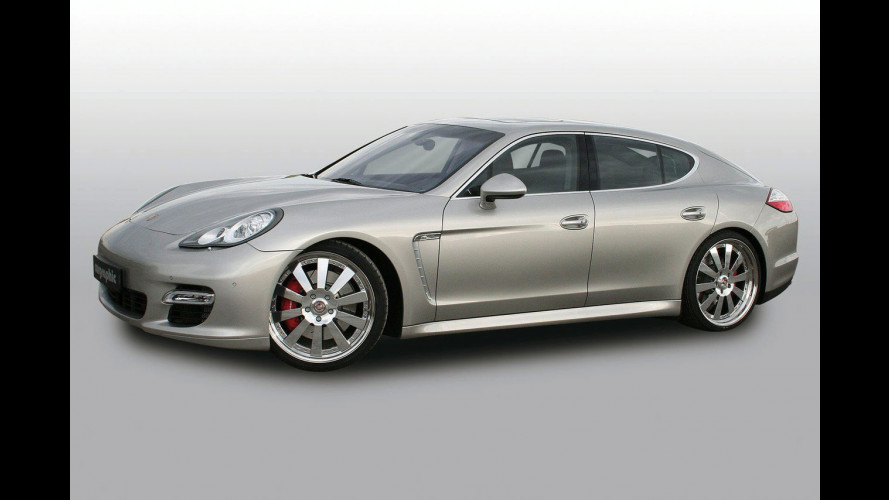 "Porsche Panamera Turbo ""Power Pack"" by Cargraphic"