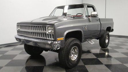 Lightly modded 1981 chevrolet k 10 is riding high