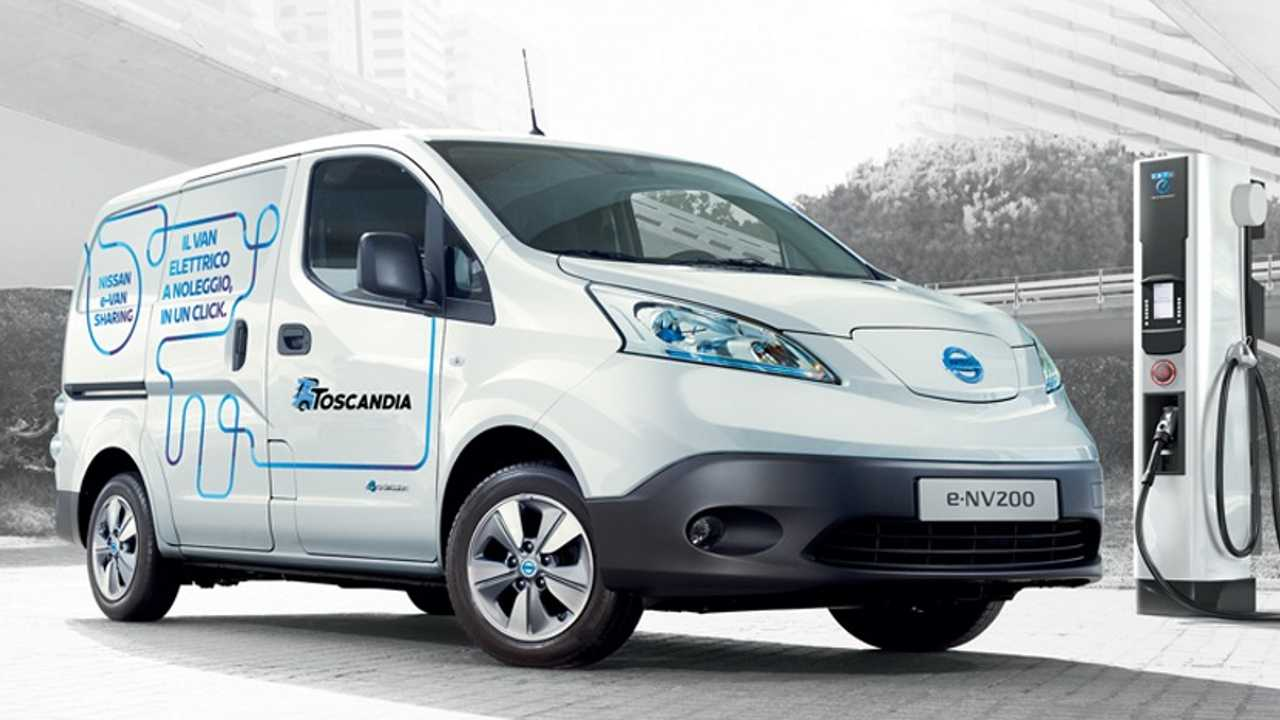 nissan e-nv200 sharing