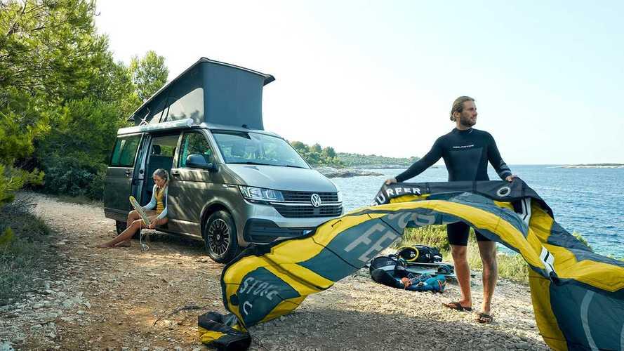 VW California 6.1 Beach mit neuer Miniküche