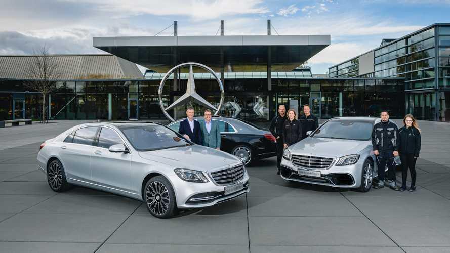 Mercedes passe le cap du demi-million de Classe S produites