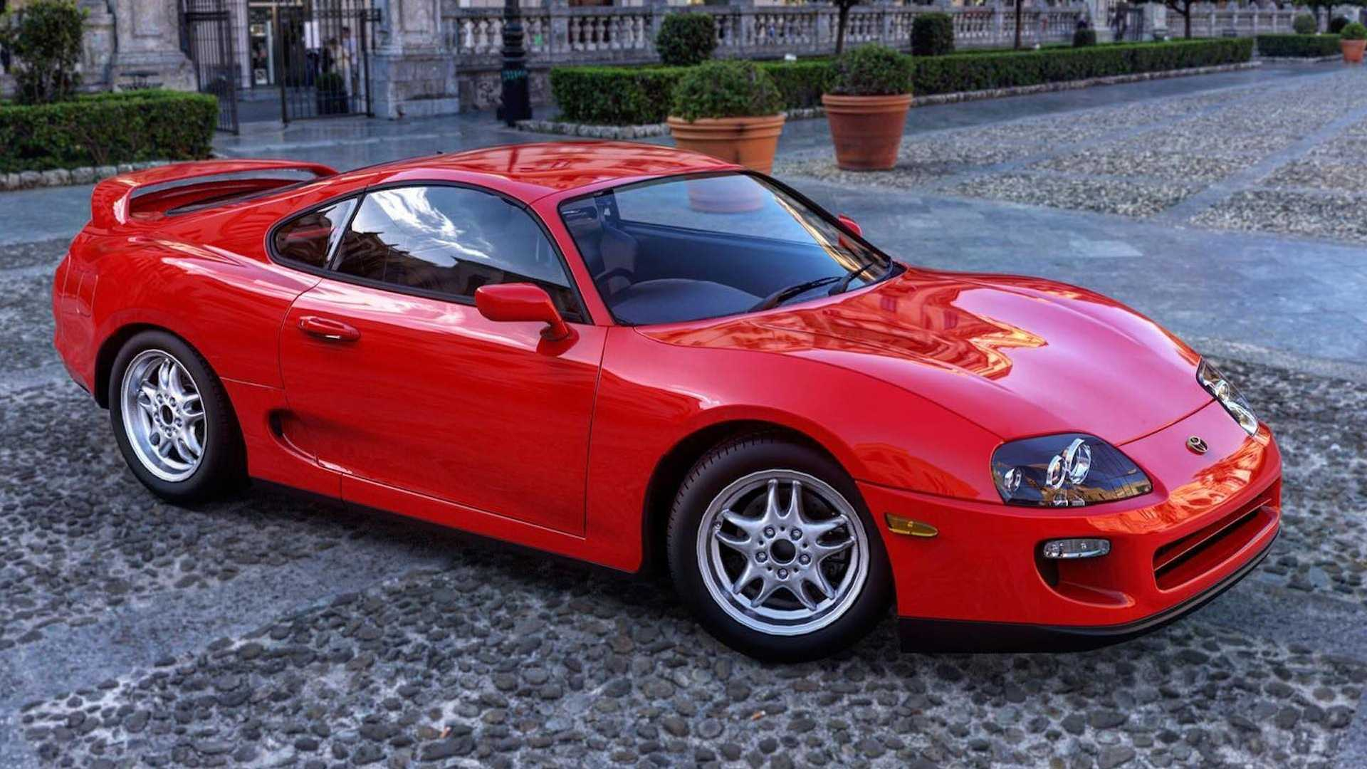 1996 Mid-Engined Toyota Supra Rendering By Abimelec Design