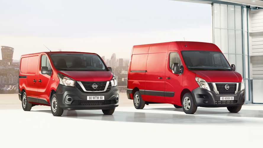 Nissan updates NV300 and NV400 vans for 2020