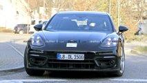 Porsche Panamera Sport Turismo facelift spy photos