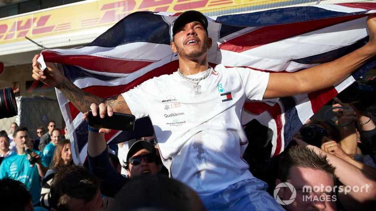 Lewis Hamilton at US GP 2019