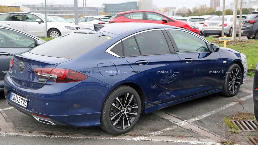 Facelifted Vauxhall Insignia GSi spied looking ready for debut