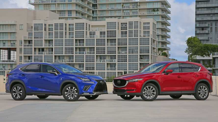 2019 Lexus NX 300 F Sport Vs 2019 Mazda CX-5 Signature Comparo