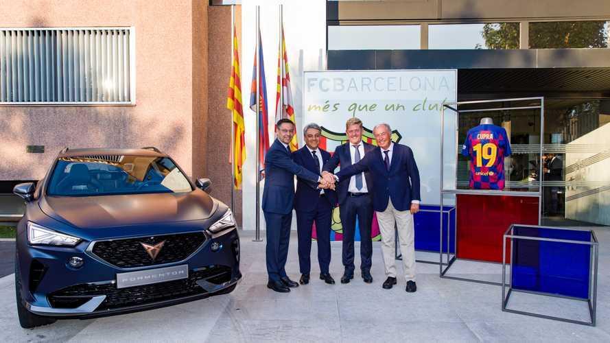 CUPRA se convierte en el nuevo socio global del FC Barcelona