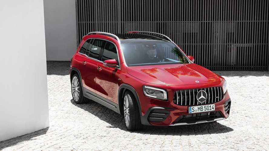 7 üléssel és 306 lóerővel érkezett meg a Mercedes-AMG GLB 35