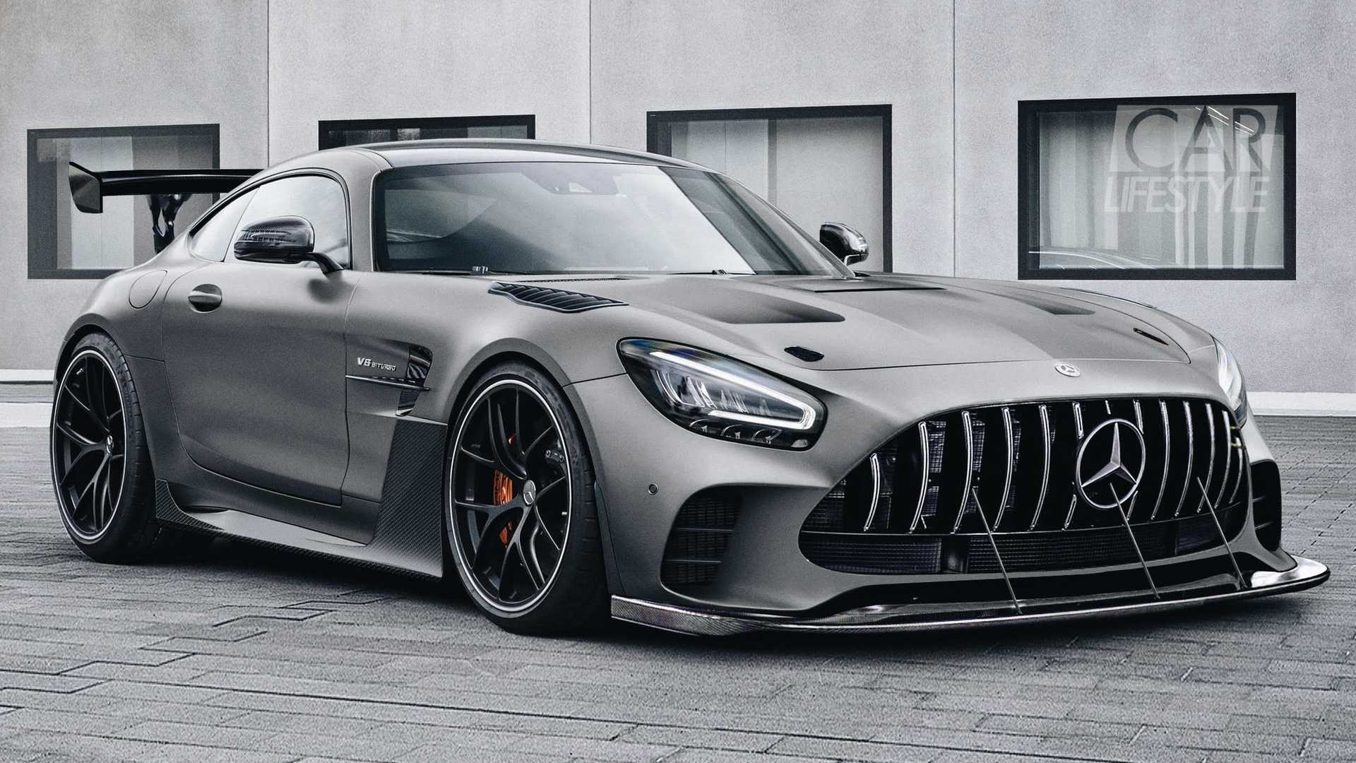 Mercedes Benz Amg Gt >> Mercedes Amg Gt Black Series Rendered As New Spy Shots
