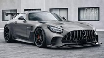 2020 Mercedes-AMG GT Black Series rendering
