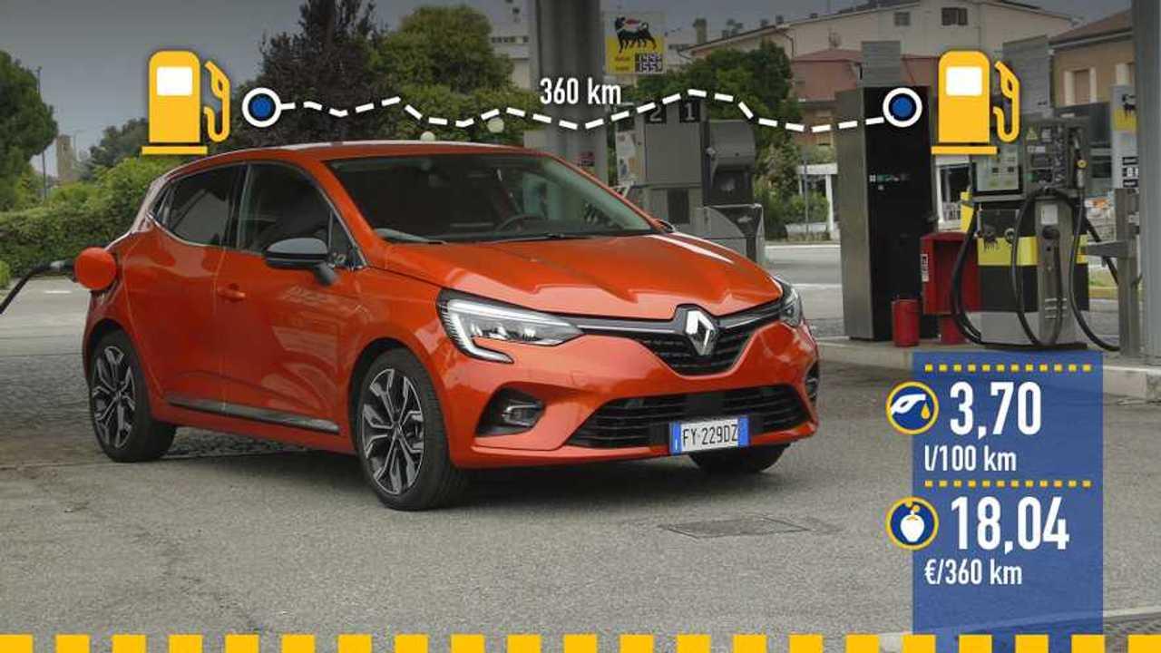 Renault Clio 2019, prueba de consumo real