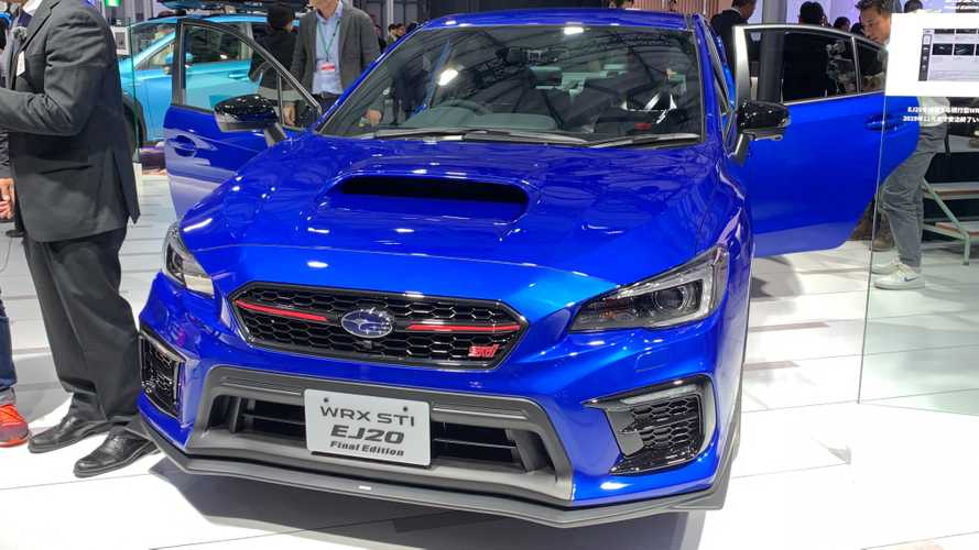 Subaru WRX STI EJ20 Final Edition Prototype