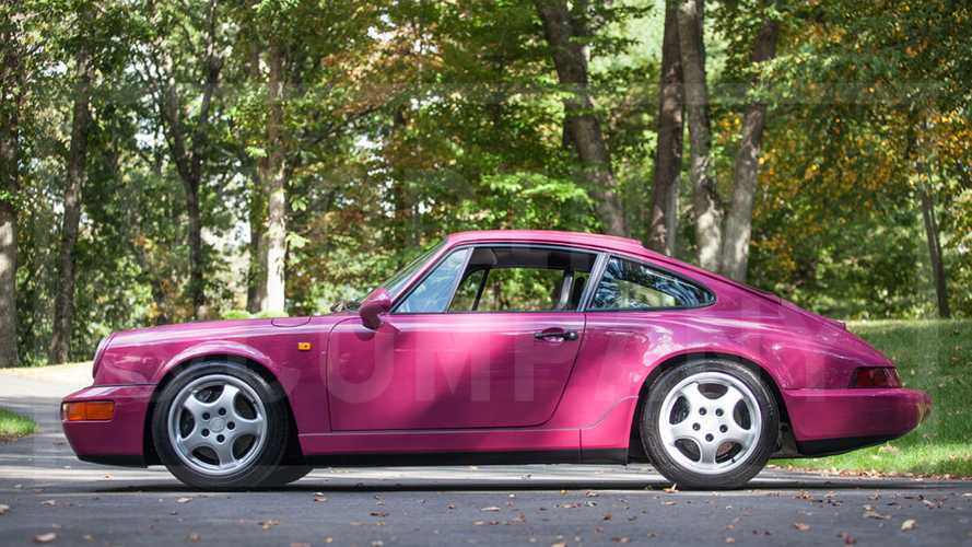 Roll Out In This Rare-Colored 1992 Porsche 964 Carrera RS