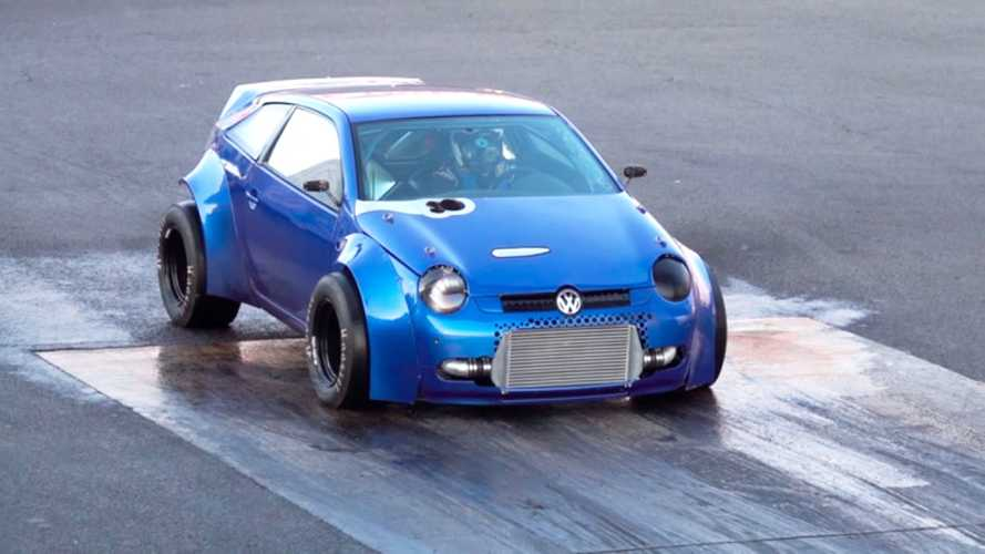 Due motori e 1.800 CV, la Volkswagen Lupo diventa una belva
