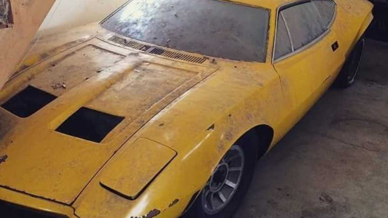 AMC AMX/3 Prototype Getting Full Restoration