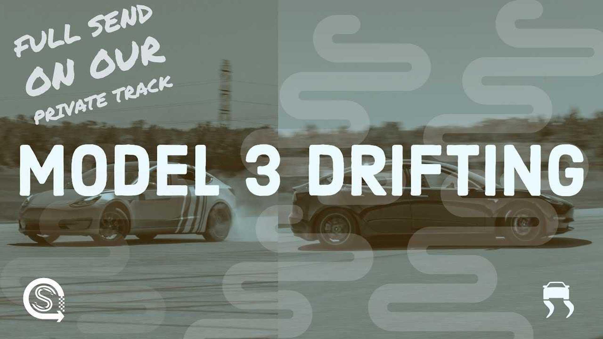 Tesla Model 3 Track Day Drifting: You Can Partake Soon Enough