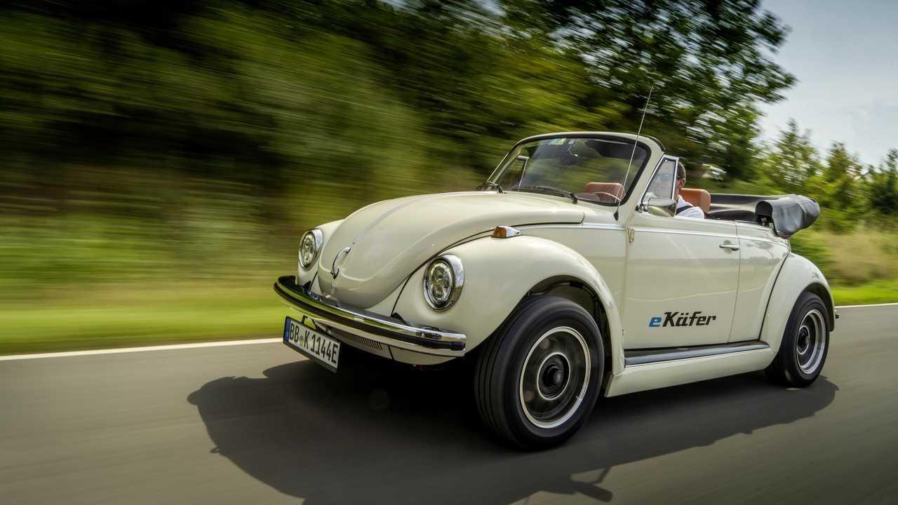 VW hilft beim Nachrüsten eines Originalkäfers mit dem eKäfer-Projekt