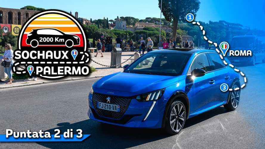 Nuova Peugeot 208, la prova nel traffico di Roma
