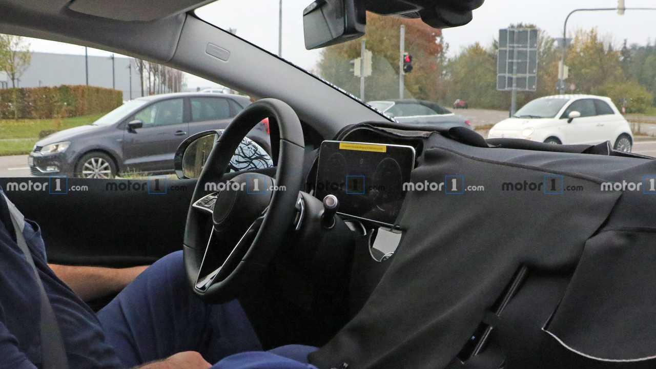 Mercedes EQS Spy Photos