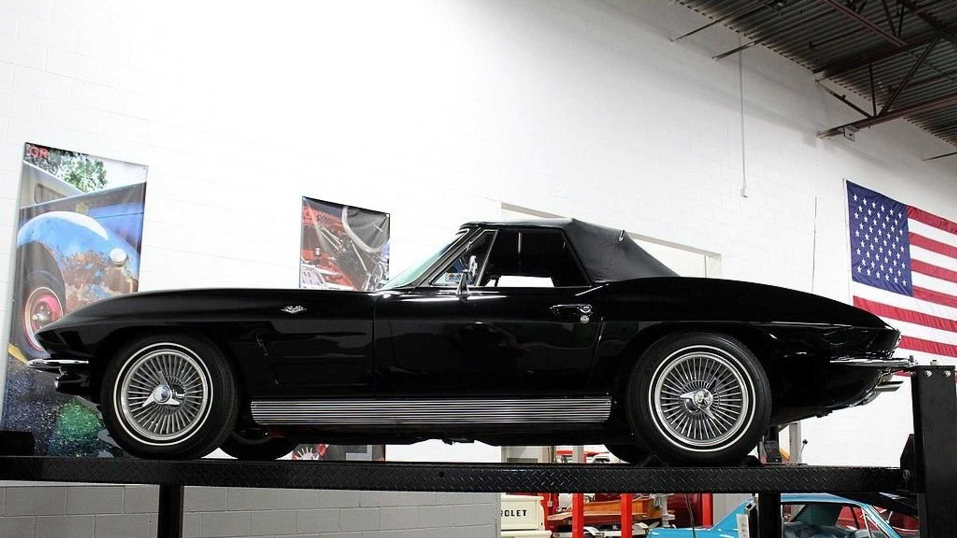 "[""For Under $70K, Go Topless In This Restored 1963 Chevy Corvette""]"