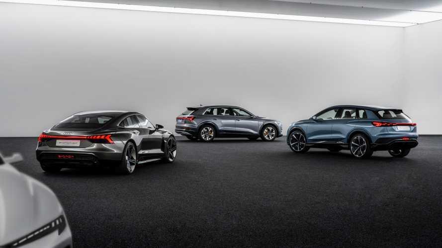 Audi, il futuro è elettrico: entro il 2025 30 novità in arrivo