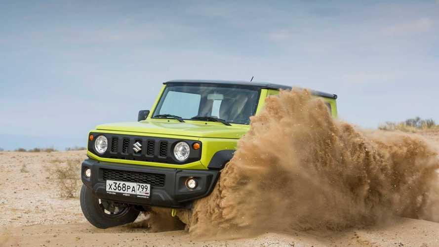 Почти «Гелик» за 1,4 миллиона: первый тест нового Suzuki Jimny