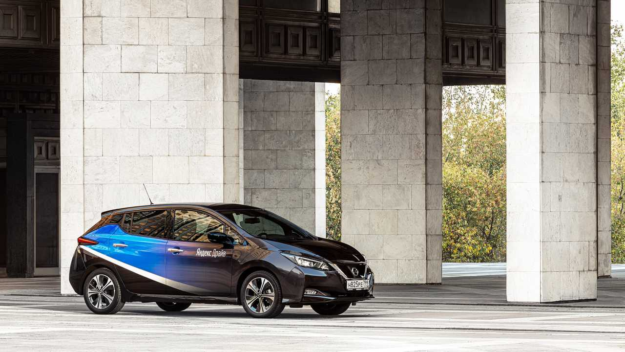 Nissan Leaf в каршеринге