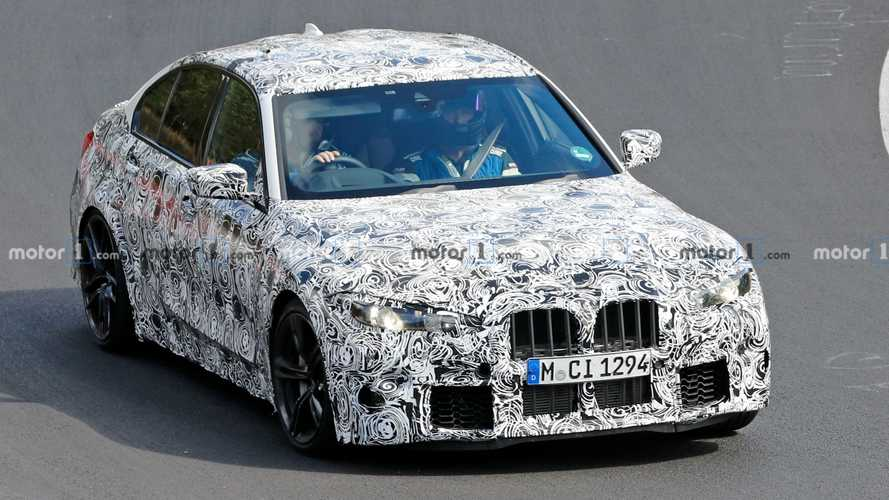 2021 BMW M3 Spied Showing Some Grille At The Nürburgring