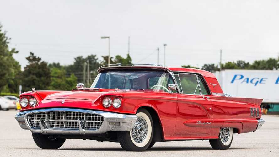 Paint The Town Red With A 1960 Ford Thunderbird