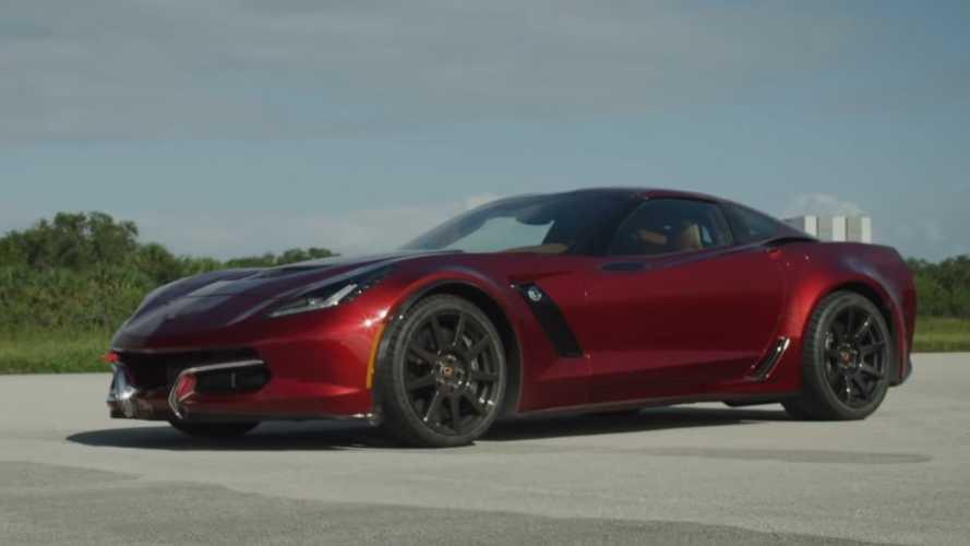 """Genovation GXE"" adlı elektrikli Corvette, maksimum hız rekoru kırdı"
