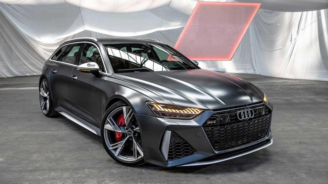 Az Audiot620 lövés az Audi RS6 Avant 2020-ban