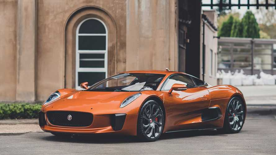 1-of-4 Jaguar C-X75 James Bond Stunt Car Heads To Auction