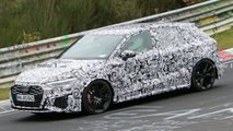 next audi rs3 spy photos