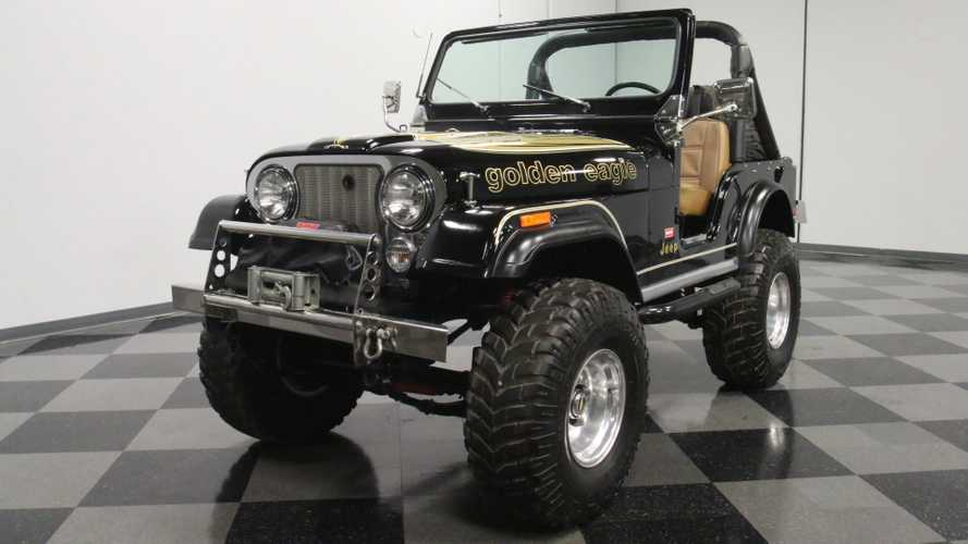 Soar High In This 1976 Jeep CJ-5 Golden Eagle Tribute