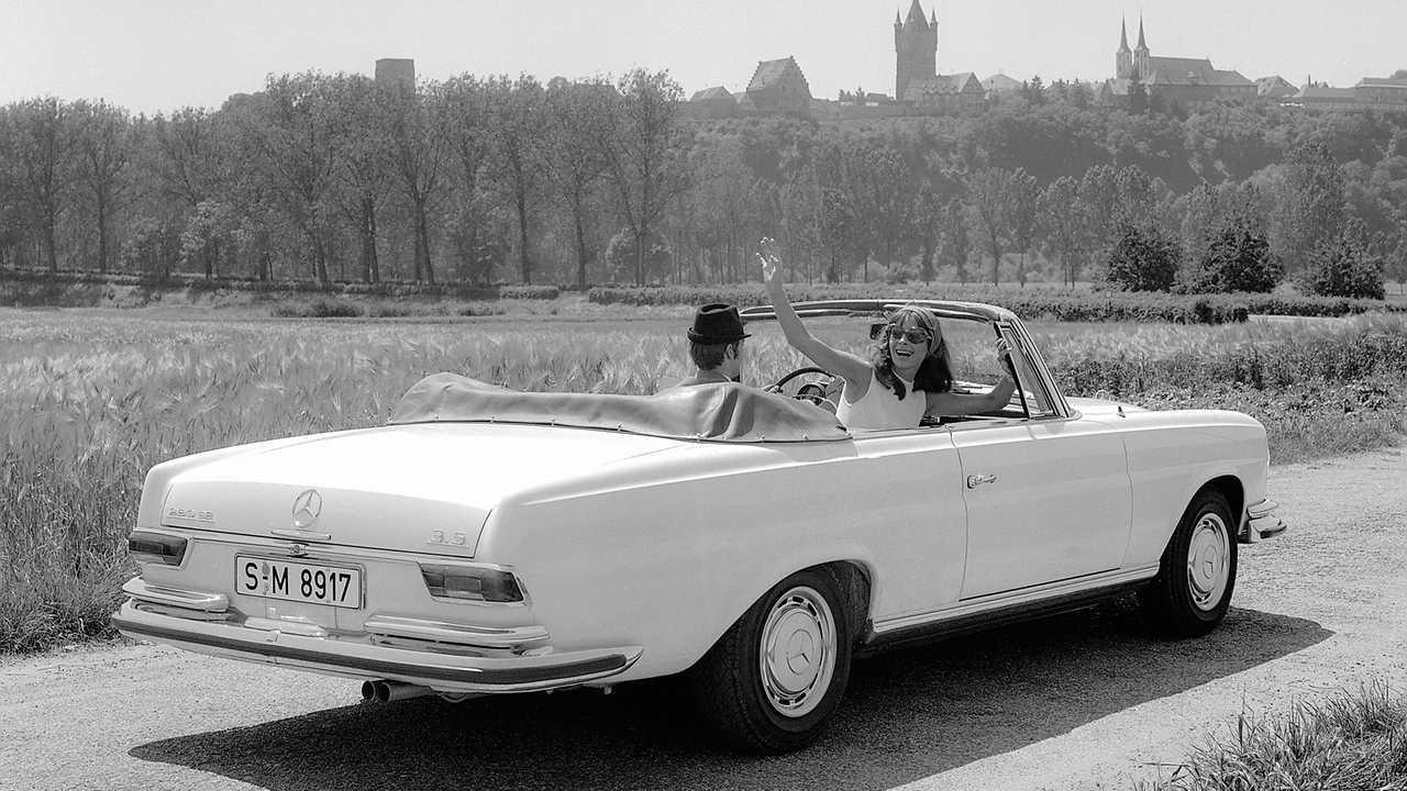 IAA 1969 Rückblick: Mercedes 280 SE 3.5 Cabriolet