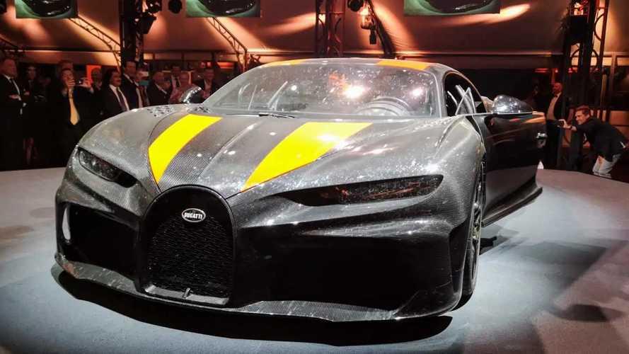Bugatti Chiron Super Sport 300+ - Fotos ao vivo