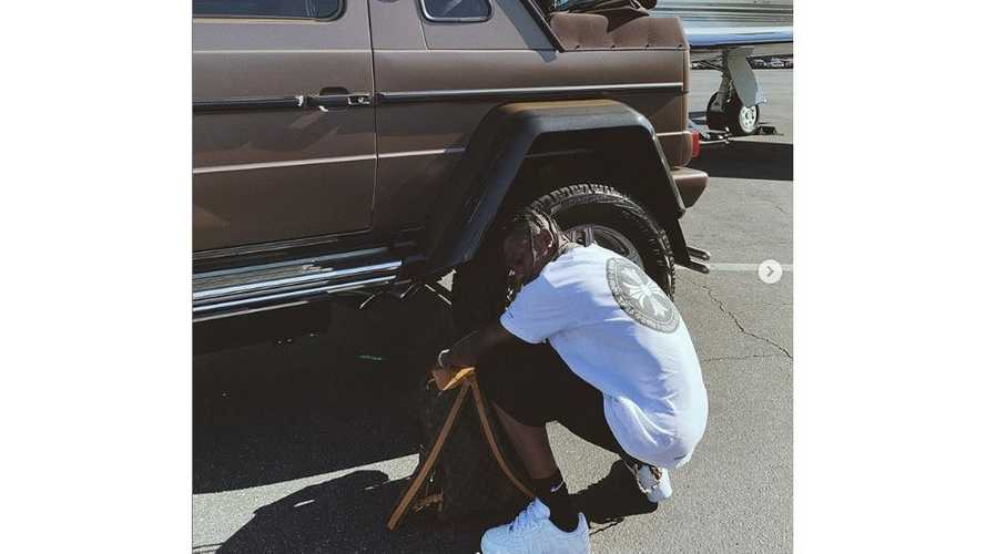 Rapper Travis Scott Drops $1.6M On Rare Maybach G-Wagon