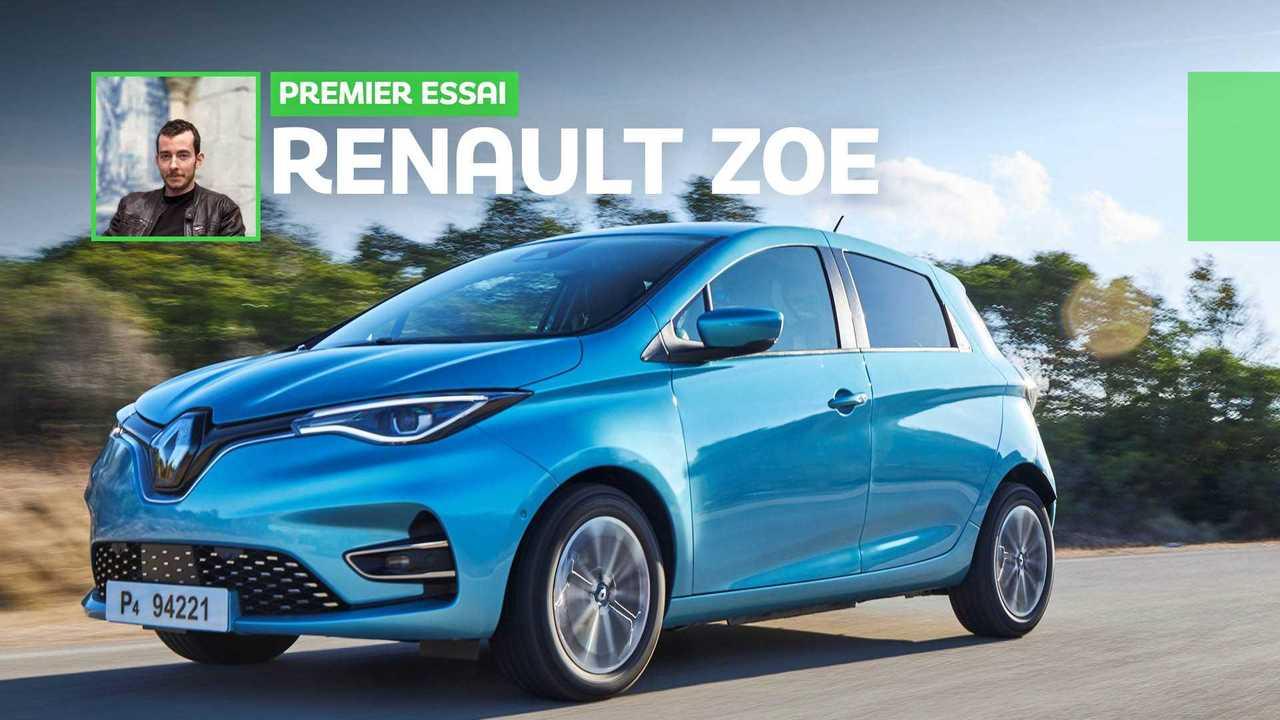 Essai Renault Zoé (2019)