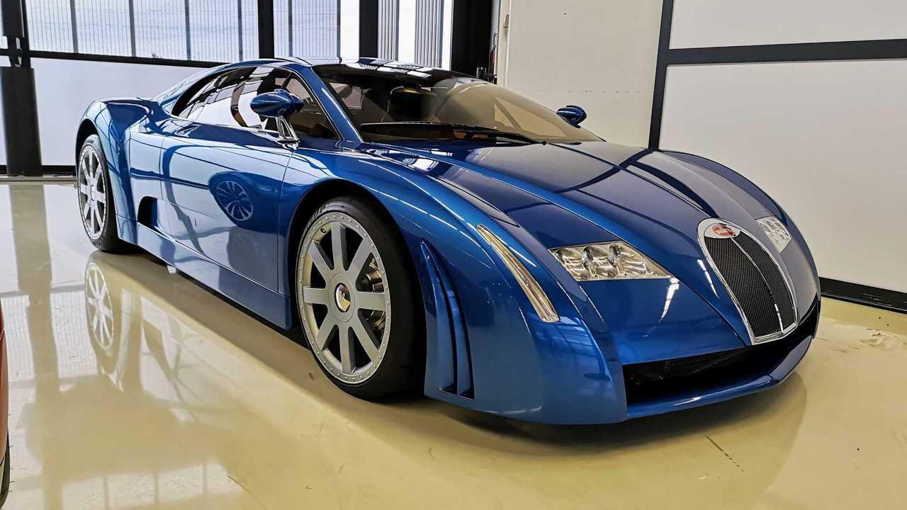 Bugatti EB18/3 Chiron Concept (1999)
