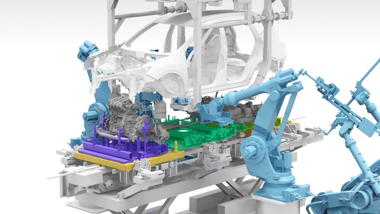 Nissan new production methods