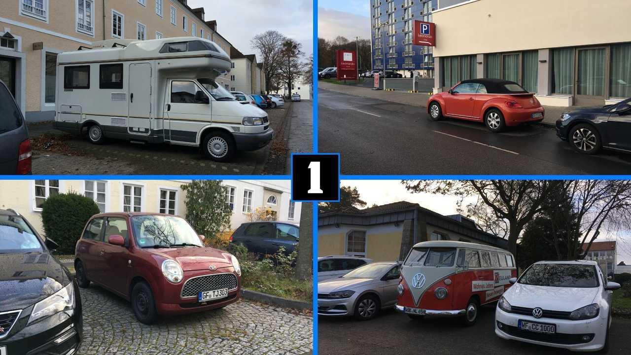 Carspotting in Wolfsburg